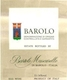 Bartolo Mascarello Barolo  - label