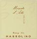 Massolino Moscato d'Asti  - label