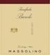 Massolino Barolo Parafada - label