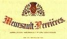 Domaine Joseph Matrot Meursault Premier Cru Perrières - label