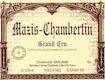 Domaine Maume Mazis-Chambertin Grand Cru  - label