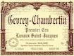 Domaine Maume Gevrey-Chambertin Premier Cru Lavaux Saint-Jacques - label