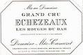 Domaine Méo-Camuzet Echezeaux Grand Cru  - label
