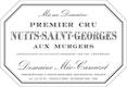 Domaine Méo-Camuzet Nuits-Saint-Georges Premier Cru Les Murgers - label
