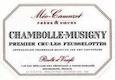 Domaine Méo-Camuzet Chambolle-Musigny Premier Cru Les Feusselottes - label