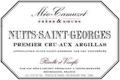 Domaine Méo-Camuzet Nuits-Saint-Georges Premier Cru Aux Argillas - label
