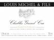 Louis Michel et Fils Chablis Grand Cru Grenouilles - label