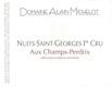 Domaine Alain Michelot Nuits-Saint-Georges Premier Cru Aux Champs Perdrix - label