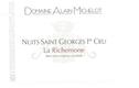 Domaine Alain Michelot Nuits-Saint-Georges Premier Cru La Richemone - label