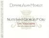 Domaine Alain Michelot Nuits-Saint-Georges Premier Cru Les Vaucrains - label