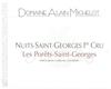 Domaine Alain Michelot Nuits-Saint-Georges Premier Cru Les Porrets-Saint-Georges - label
