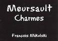 Domaine François Mikulski Meursault Premier Cru Charmes - label