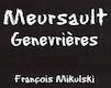 Domaine François Mikulski Meursault Premier Cru Genevrières - label