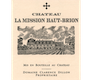Château La Mission Haut-Brion Blanc (formerly Laville Haut-Brion) - label