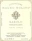 Mauro Molino Barolo Conca - label