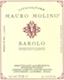 Mauro Molino Barolo  - label