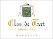 Clos de Tart Clos de Tart Grand Cru  - label