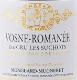 Domaine Mongeard-Mugneret Vosne-Romanée Premier Cru Les Suchots - label