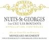 Domaine Mongeard-Mugneret Nuits-Saint-Georges Premier Cru Les Boudots - label