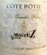 Domaine du Monteillet Côte Rôtie Les Grandes Places - label