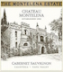 Chateau Montelena The Montelena Estate Cabernet Sauvignon - label