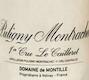 Domaine de Montille Puligny-Montrachet Premier Cru Le Cailleret - label