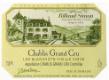 Domaine Billaud-Simon Chablis Grand Cru Blanchot  Vieilles vignes - label
