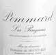Domaine de Montille Pommard Premier Cru Les Rugiens Bas - label