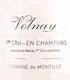 Domaine de Montille Volnay Premier Cru Champans - label