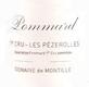 Domaine de Montille Pommard Premier Cru Les Pézerolles - label
