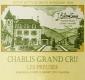 Domaine Billaud-Simon Chablis Grand Cru Les Preuses - label