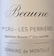 Domaine de Montille Beaune Premier Cru Les Perrières - label