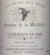Domaine de la Mordorée Châteauneuf-du-Pape La Reine des Bois - label