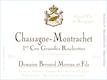 Domaine Bernard Moreau et Fils Chassagne-Montrachet Premier Cru Grandes Ruchottes - label