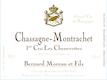 Domaine Bernard Moreau et Fils Chassagne-Montrachet Premier Cru Les Chenevottes - label