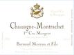 Domaine Bernard Moreau et Fils Chassagne-Montrachet Premier Cru Les Morgeots - label