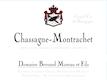 Domaine Bernard Moreau et Fils Chassagne-Montrachet  - label