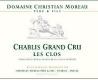 Domaine Christian Moreau Père et Fils Chablis Grand Cru Les Clos - label