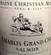 Moreau-Naudet Chablis Grand Cru Valmur - label