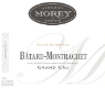 Domaine Vincent & Sophie Morey Bâtard-Montrachet Grand Cru  - label