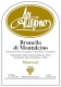 Altesino Brunello di Montalcino Montosoli - label