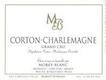 Domaine Pierre Morey Corton-Charlemagne Grand Cru  - label