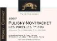 Domaine Morey Coffinet Puligny-Montrachet Premier Cru Les Pucelles - label