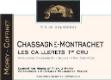 Domaine Morey Coffinet Chassagne-Montrachet Premier Cru Les Caillerets - label