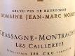 Domaine Jean-Marc Morey Chassagne-Montrachet Premier Cru Les Caillerets - label