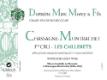 Domaine Marc Morey et Fils Chassagne-Montrachet Premier Cru Les Caillerets - label