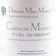 Domaine Marc Morey et Fils Chassagne-Montrachet Premier Cru En Virondot - label