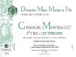 Domaine Marc Morey et Fils Chassagne-Montrachet Premier Cru Les Vergers - label
