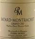 Domaine Pierre Morey Bâtard-Montrachet Grand Cru  - label