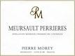 Domaine Pierre Morey Meursault Premier Cru Perrières - label